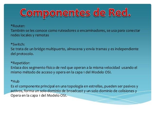 Modelo osi protocolo y componentes de red for Cuales son los cajeros red