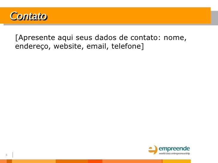 Modelo de email de apresentacao