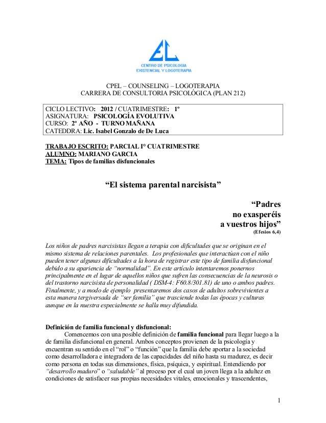CPEL – COUNSELING – LOGOTERAPIA             CARRERA DE CONSULTORIA PSICOLÓGICA (PLAN 212)CICLO LECTIVO: 2012 / CUATRIMESTR...