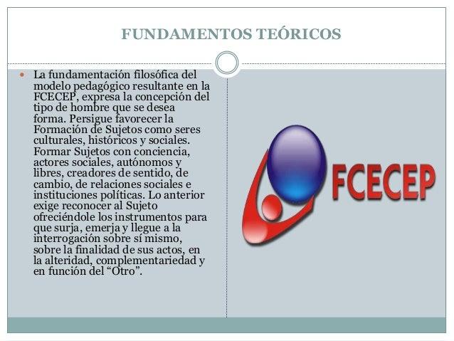 Modelo pledagógico de la fcecep vanner ocoro Slide 2