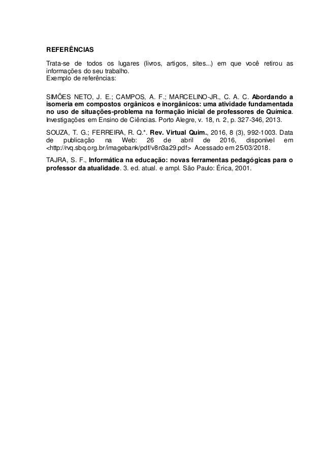 Modelo Projeto Separacao De Misturas