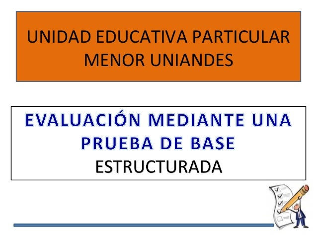 UNIDAD EDUCATIVA PARTICULAR MENOR UNIANDES