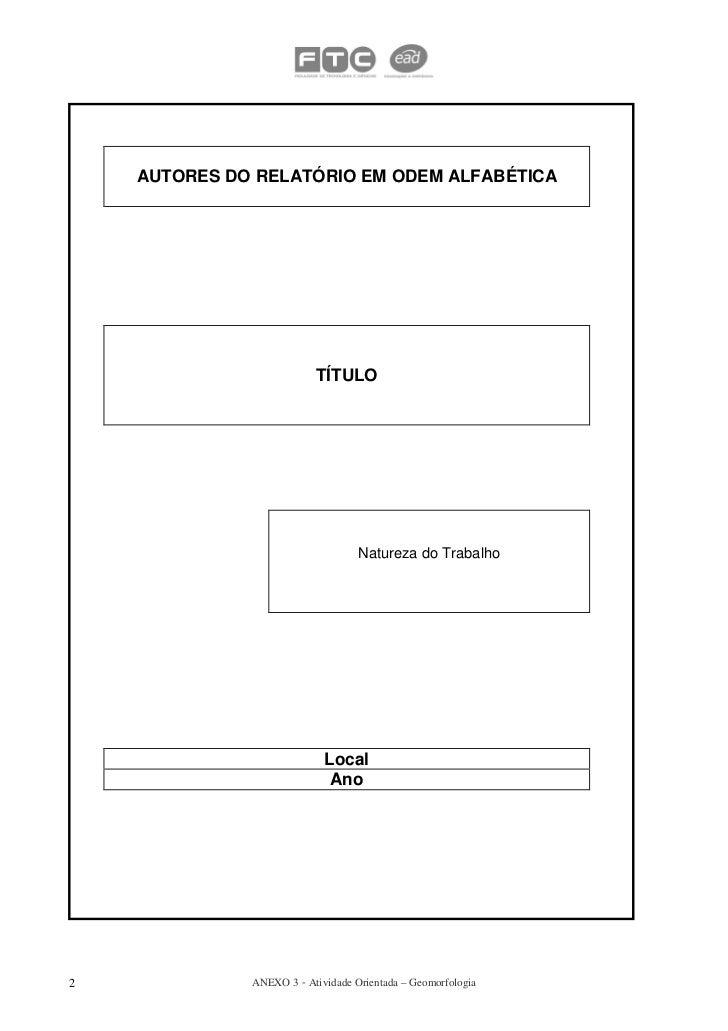 Modelo relatorio Slide 2