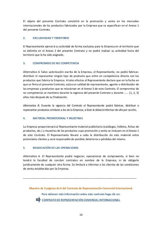 Encantador Plantilla De Contrato De Venta De Comisiones Patrón ...