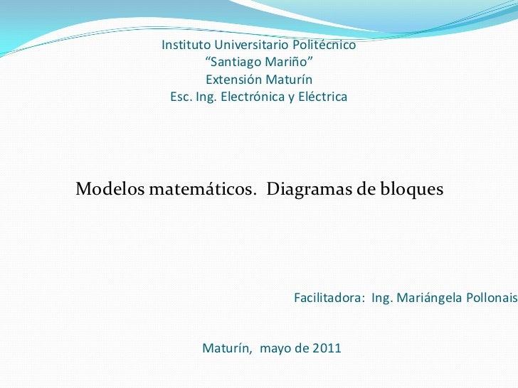 """Instituto Universitario Politécnico                  """"Santiago Mariño""""                  Extensión Maturín           Esc. I..."""