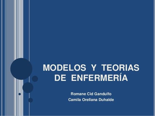 Modelos y-teorias-de-enfermería