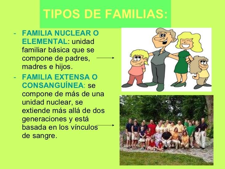 Modelos actuales de familia y su impacto en 1 Tipos de familia nuclear
