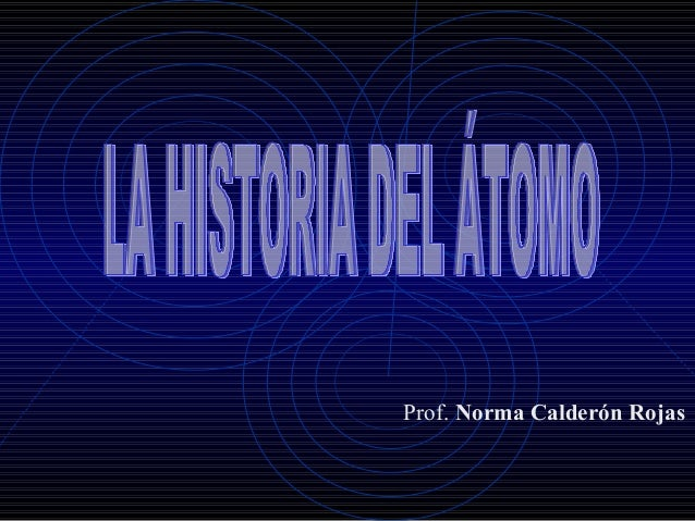 Prof. Norma Calderón Rojas