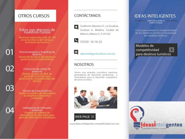 Modelos de competitividad turística slide share