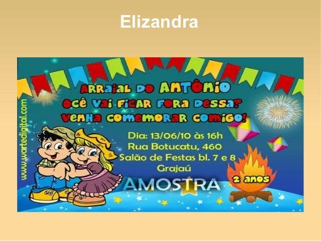 Modelos De Convite Para Festa Junina Slide