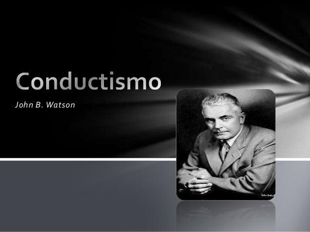 Modelos de evaluacions psicologica...conductismo Slide 3