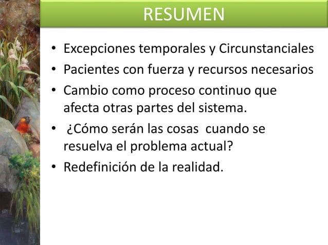 RESUMEN • Esta se centra activamente en los recursos de los clientes, es decir, en aquellas ocasiones en las que no se da ...