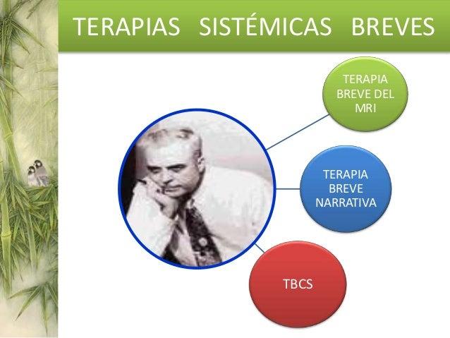 Mental Research Institute Terapia Breve Centrada en problemas Brief Family Center Terapia Breve Centrada en soluciones Ter...