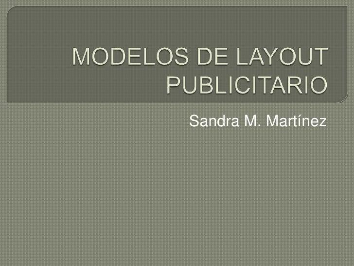 Sandra M. Martínez