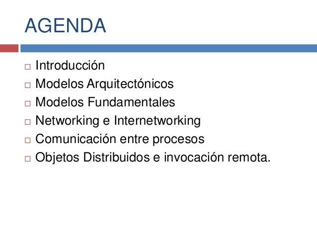Modelos de los sistemas distribuidos Slide 2