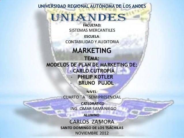 UNIVERSIDAD REGIONAL AUTÓNOMA DE LOS ANDES                  FACULTAD:            SISTEMAS MERCANTILES                   ES...