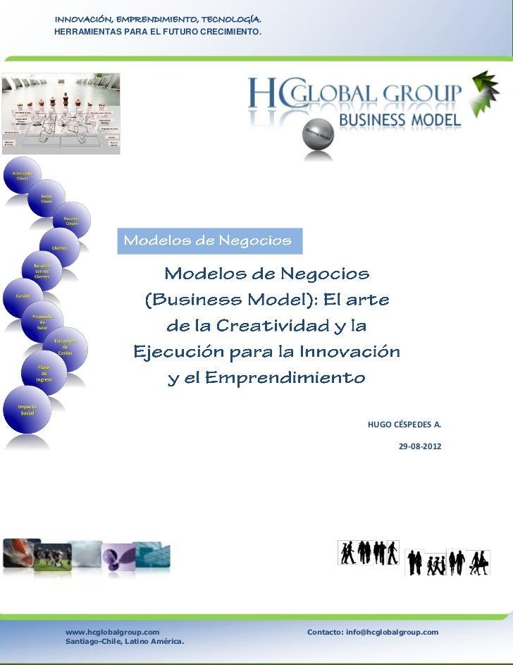 Modelos de Negocios (Business Model)  El Arte de la Creatividad y Eje… 5c0db04d23bd
