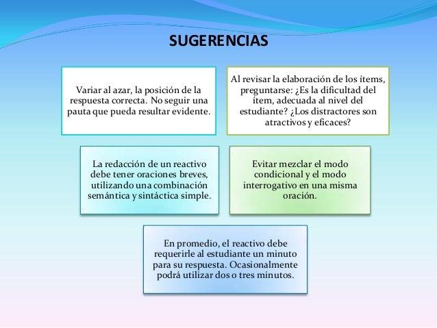 TIPOS DE ÍTEM POR SU RESPUESTAAlternativa diferenciada: tomando como base el cuerpo delítem, sólo una opción es la correct...