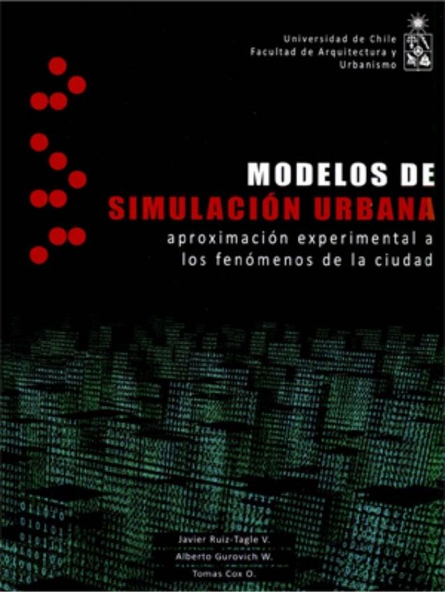 Modelos de Simulación Urbana  - Muestra