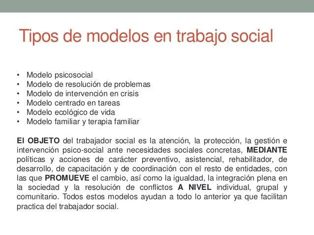 modelos de trabajo social por maritza eudave