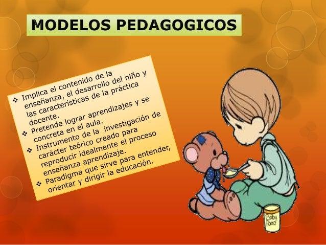 Modelo: Un grupo de conceptos yde la relaciones entre ellos, quecorresponde a uno o varias                  Pedagógico:   ...