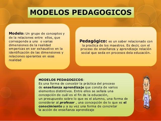 Modelos pedagogico curriculares academicos Slide 2