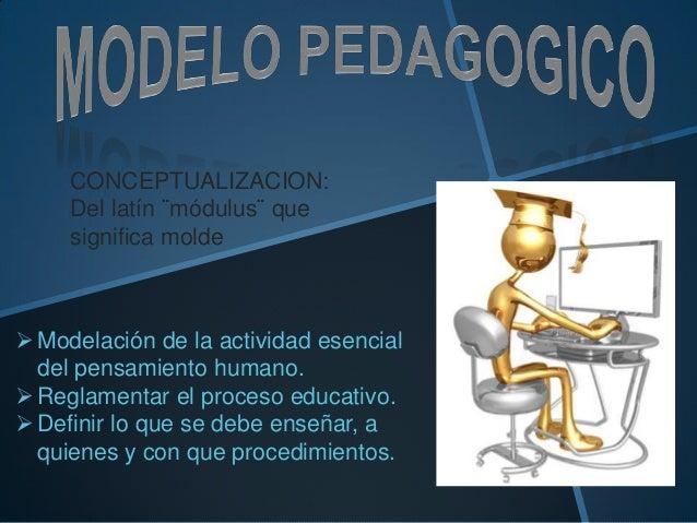 CONCEPTUALIZACION:Del latín ¨módulus¨ quesignifica moldeModelación de la actividad esencialdel pensamiento humano.Reglam...