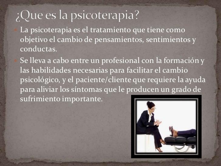 Modelos psicoterapéuticos Slide 2