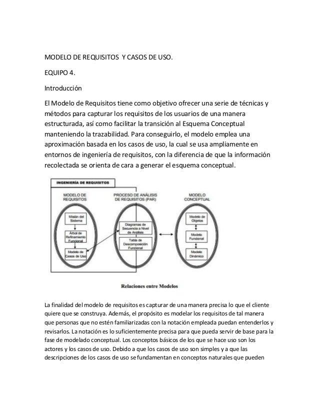 MODELO DE REQUISITOS Y CASOS DE USO. EQUIPO 4. Introducción El Modelo de Requisitos tiene como objetivo ofrecer una serie ...