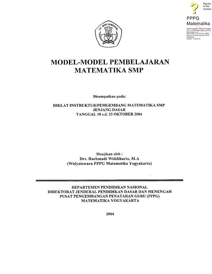 Signatu                        re Not                        Verified    PPPG Matematika Digitally signed by PPPG Matemati...