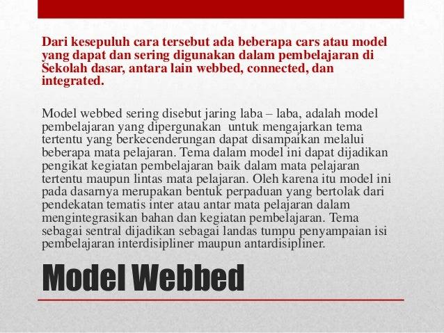 Model Pembelajaran Pkn Tematis di Kelas I, II, dan III di ...