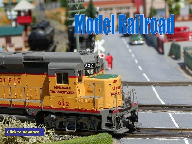 Model Railroad Click to advance