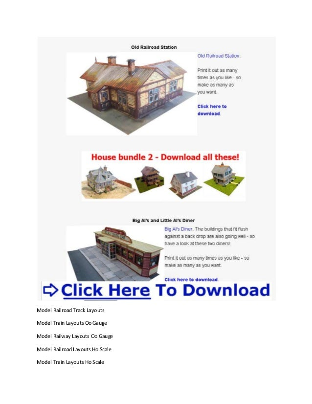 Model Railroad Layout Software Free Model Train Scenery Ideas