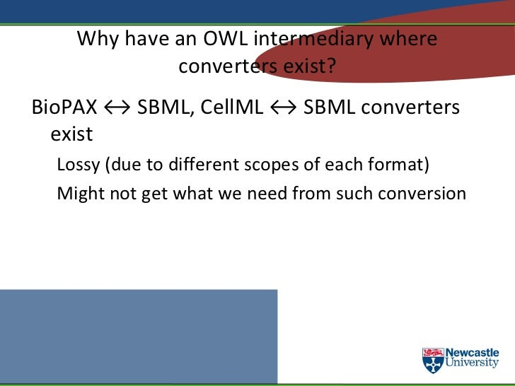 Syntactic ontologies pass data to the core via SWRL </li><ul><li>Are either syntactic translations of data formats into OW...