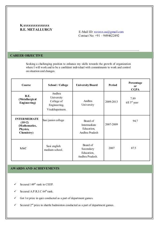 Resume Model For Job. sample resume models resume cv cover letter ...