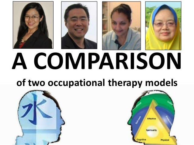 A COMPARISON of two occupational therapy models