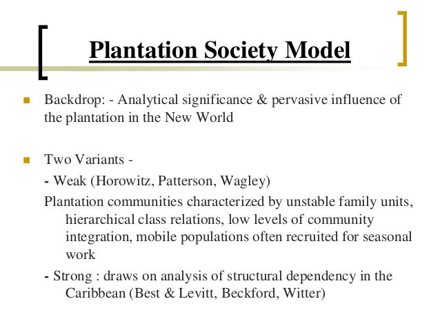 "plural society thesis Theories of caribbean societies plural society seems calm because under pressure of force independence values ""dual society"" thesis:."