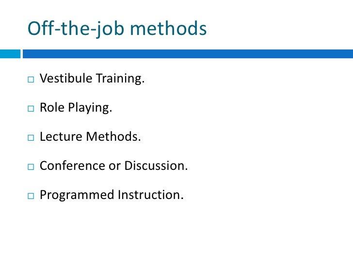 job instruction training in hrm