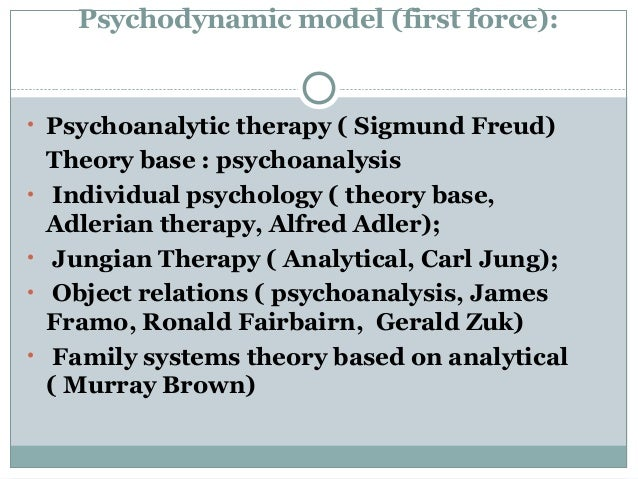 psychoanalytic and adlerian therapy