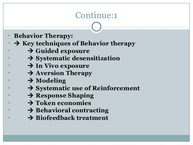 models of psychotherapy