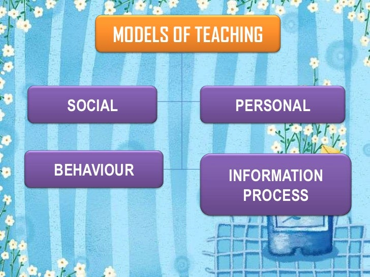 models of teaching Models of teaching/instruction based on the work of bruce joyce, marsha weils & emily calhoun citation: huitt, w (2003) models of teaching/instruction educational psychology interactive valdosta, ga: valdosta state university retrieved [date], from html.