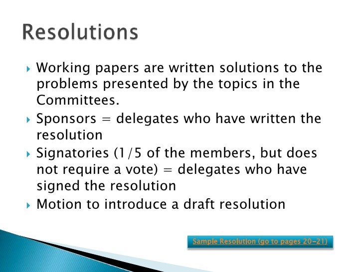 conflict resolution term papers