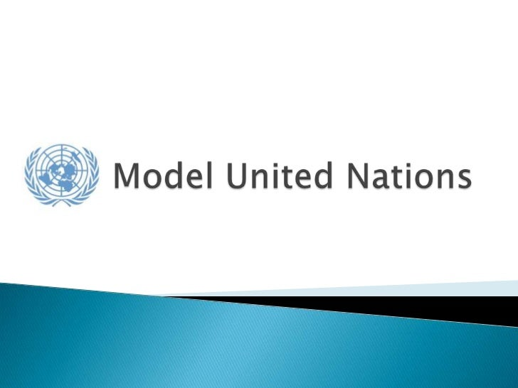 intro to model united nations, Presentation templates