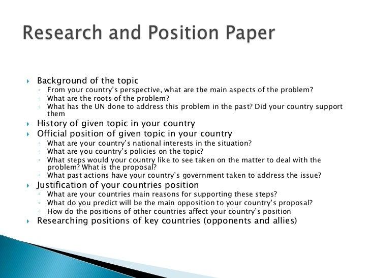 easy position essay topics