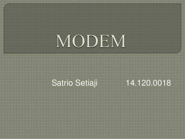 Satrio Setiaji 14.120.0018