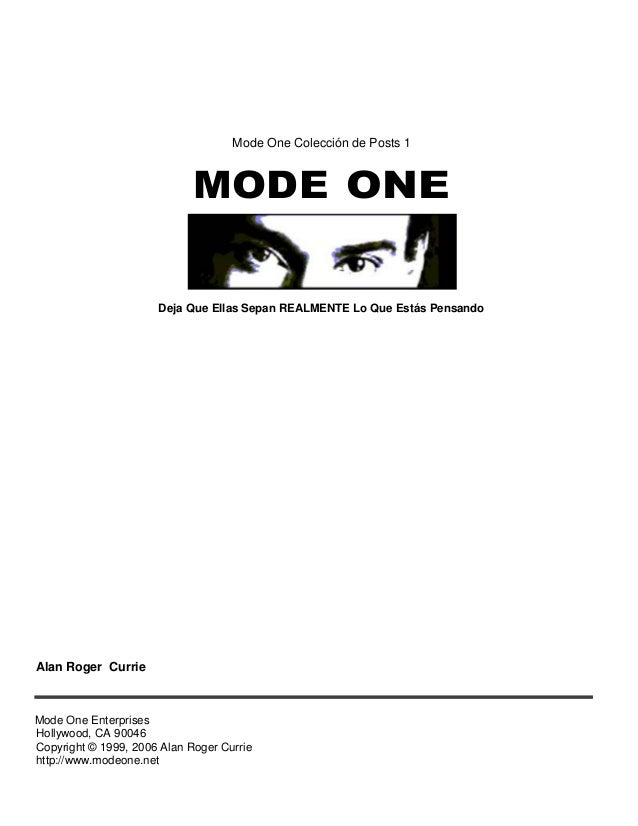 MODE ONE POSTS DOWNLOAD