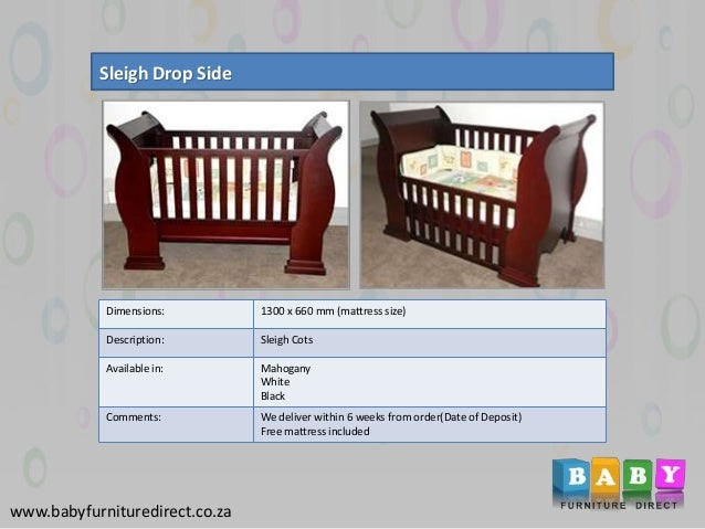 best sneakers 7bd02 69142 Designer baby furniture cots in South Africa