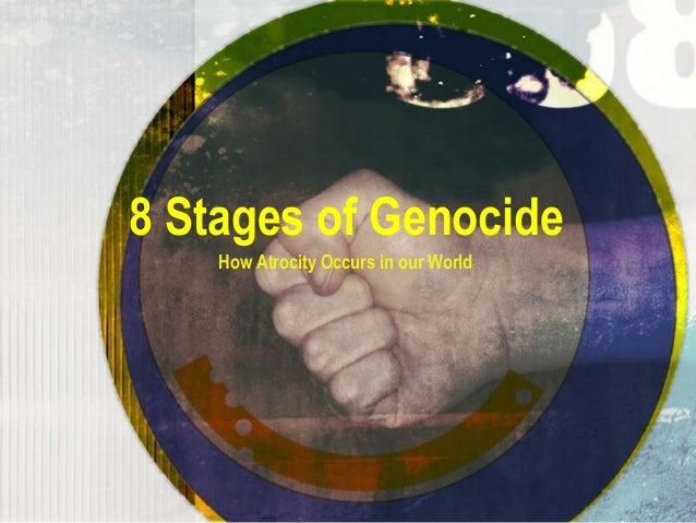 8 Stages of Genocide How Atrocity Occurs in our World