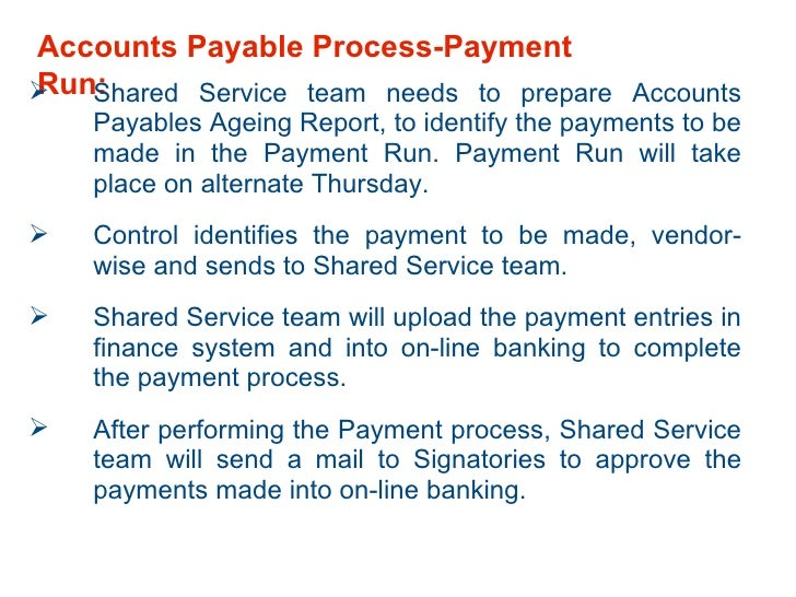 An analysis of accounts payable shared services case study