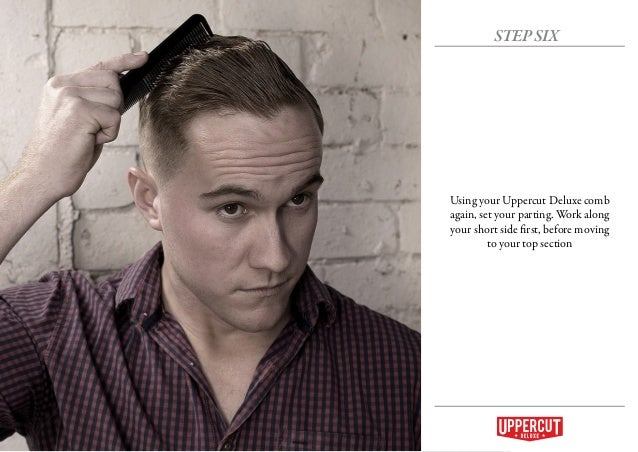 How To: Grooming - Modern Pompadour with a Hard Part - Mens Hairstyles